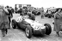 HWM Peter Collins at Silverstone 1952 Daily Express Trophy